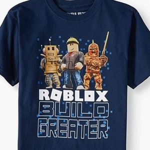 Roblox Build Greater Big and Little Boys Shirt